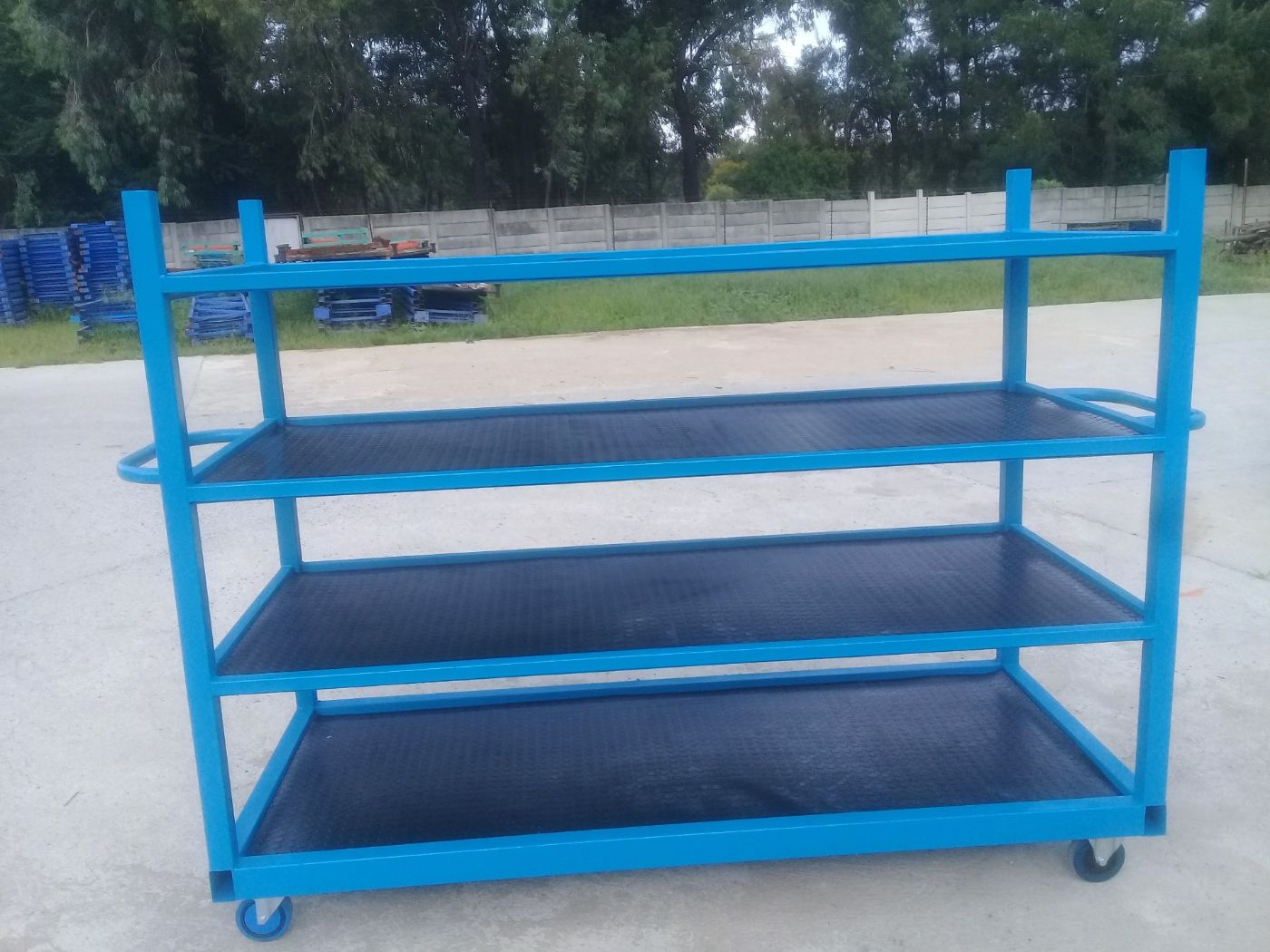 Shelf Rack, New And Used Racking, Beams, Frames, Pallets, Decks, New And Used Shelving, Small Parts Storage Systems, Mezzanine Floors, Work Benches And Automobile Assembly Line Parts Trolleys
