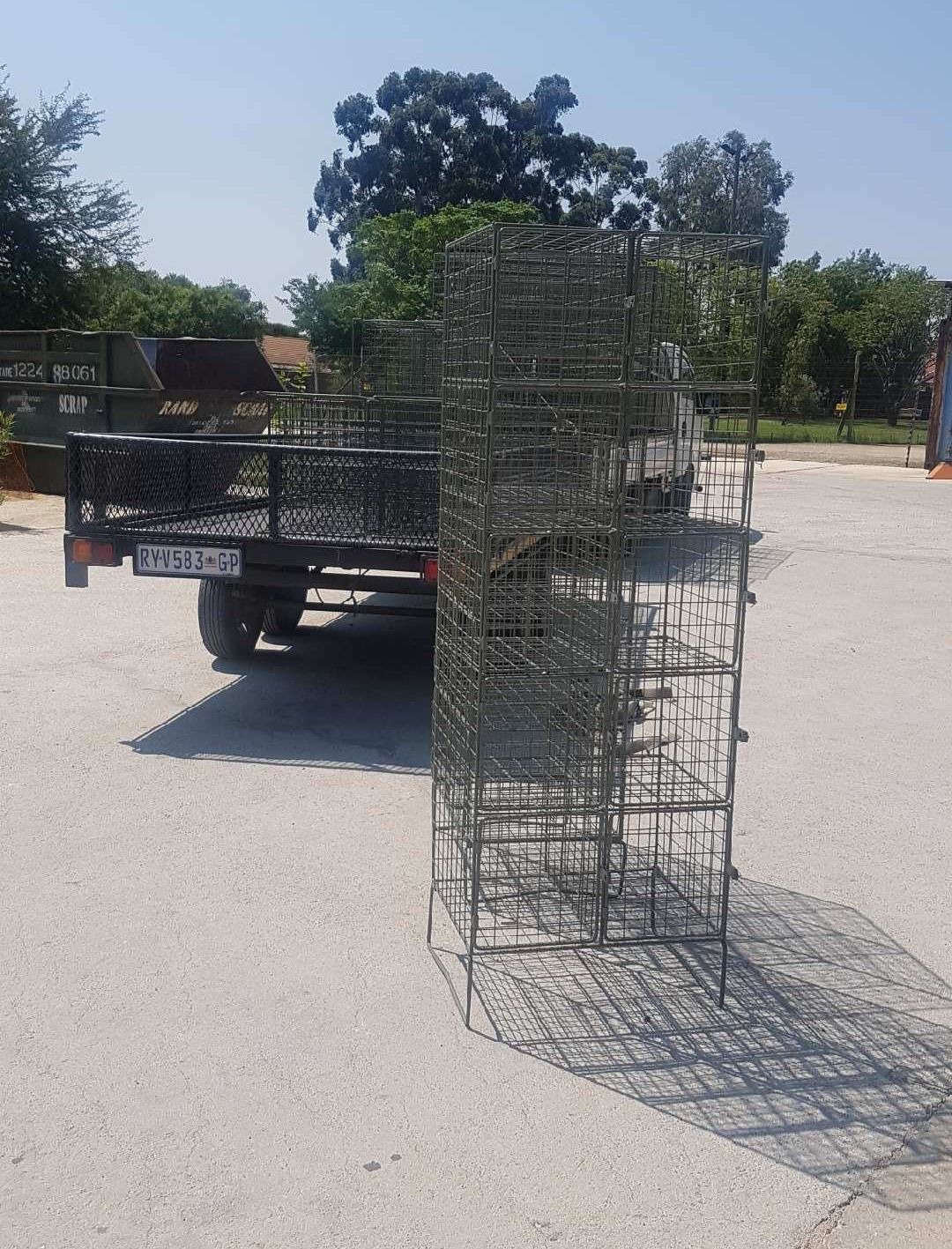 Shelf Rack, New And Used Racking, Beams, Frames, Pallets, Decks, New And Used Shelving, Small Parts Storage Systems, Mezzanine Floors, Work Benches, Automobile Assembly Line Parts Trolleys, Custom Made Wire Workers Lockers